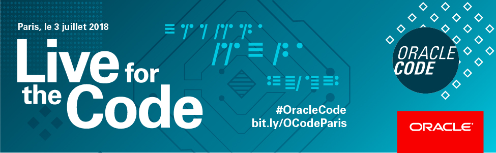 Oracle Code Paris 2018